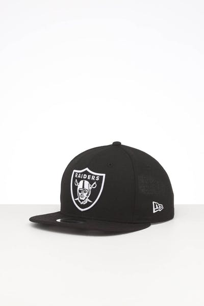 NEW ERA OAKLAND RAIDERS 9FIFTY ORIGINAL FIT SNAPBACK BLACK