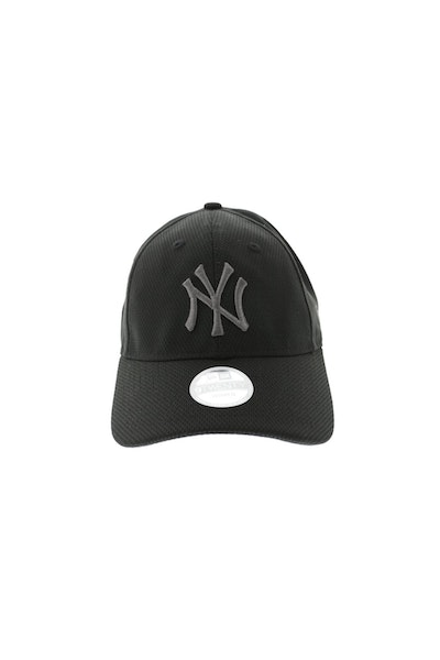 New Era Womens Yankees DE 920 Strapback Black/Graphite