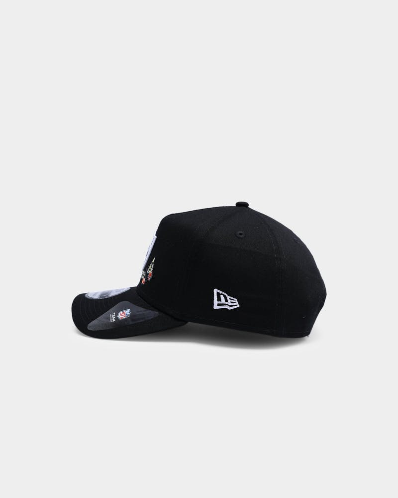 "New Era Raiders ""Butterfly Logo"" 9FORTY A-Frame Snapback Black"