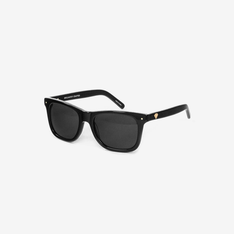 41ae3835d07 Diamond Supply Vermont Sunglasses Black clear – Culture Kings