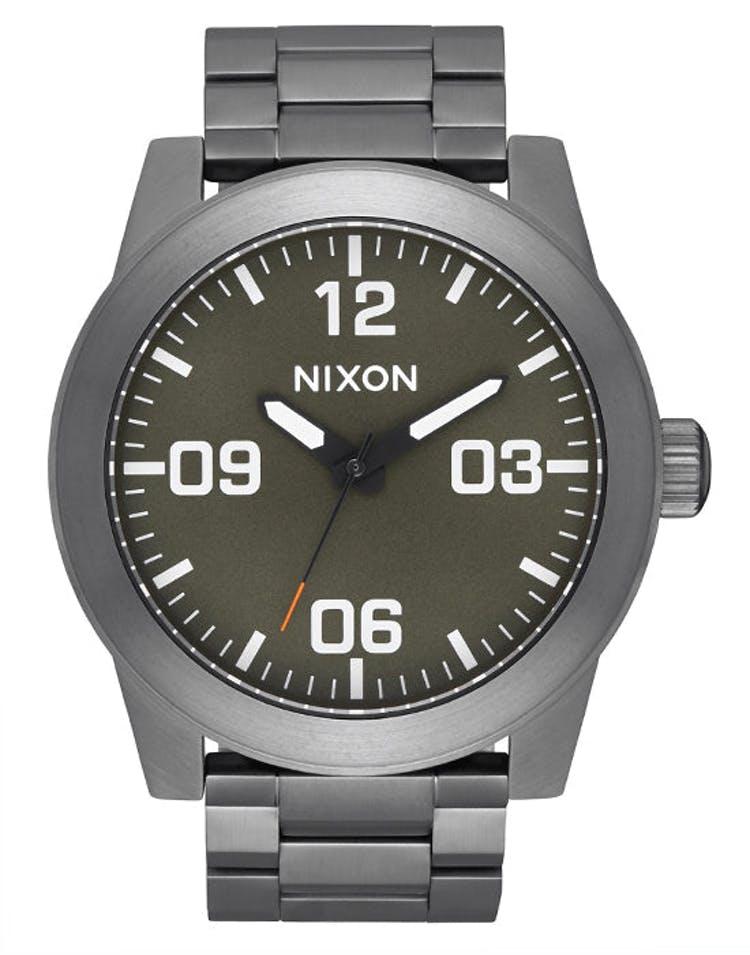 Nixon Corporal SS Gunmetal/Slate