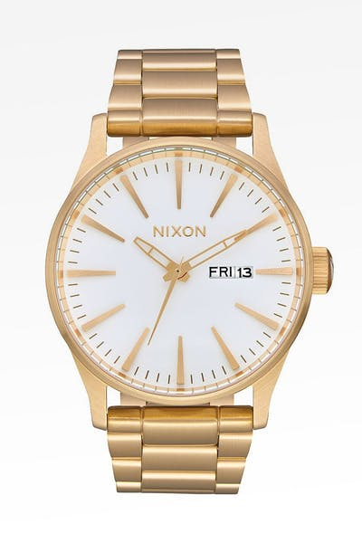 Nixon Sentry SS Gold/White