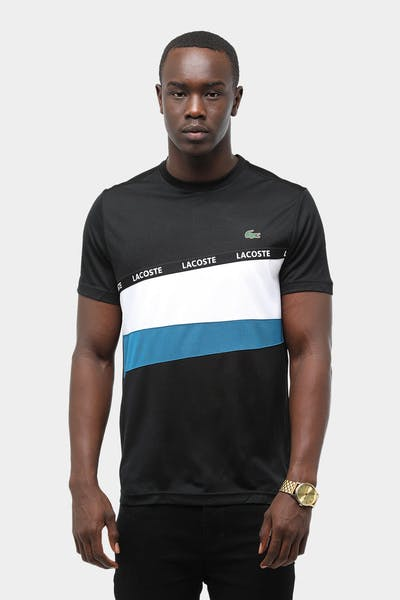 Tennis Ultra Dry Colorblock Tape Tee