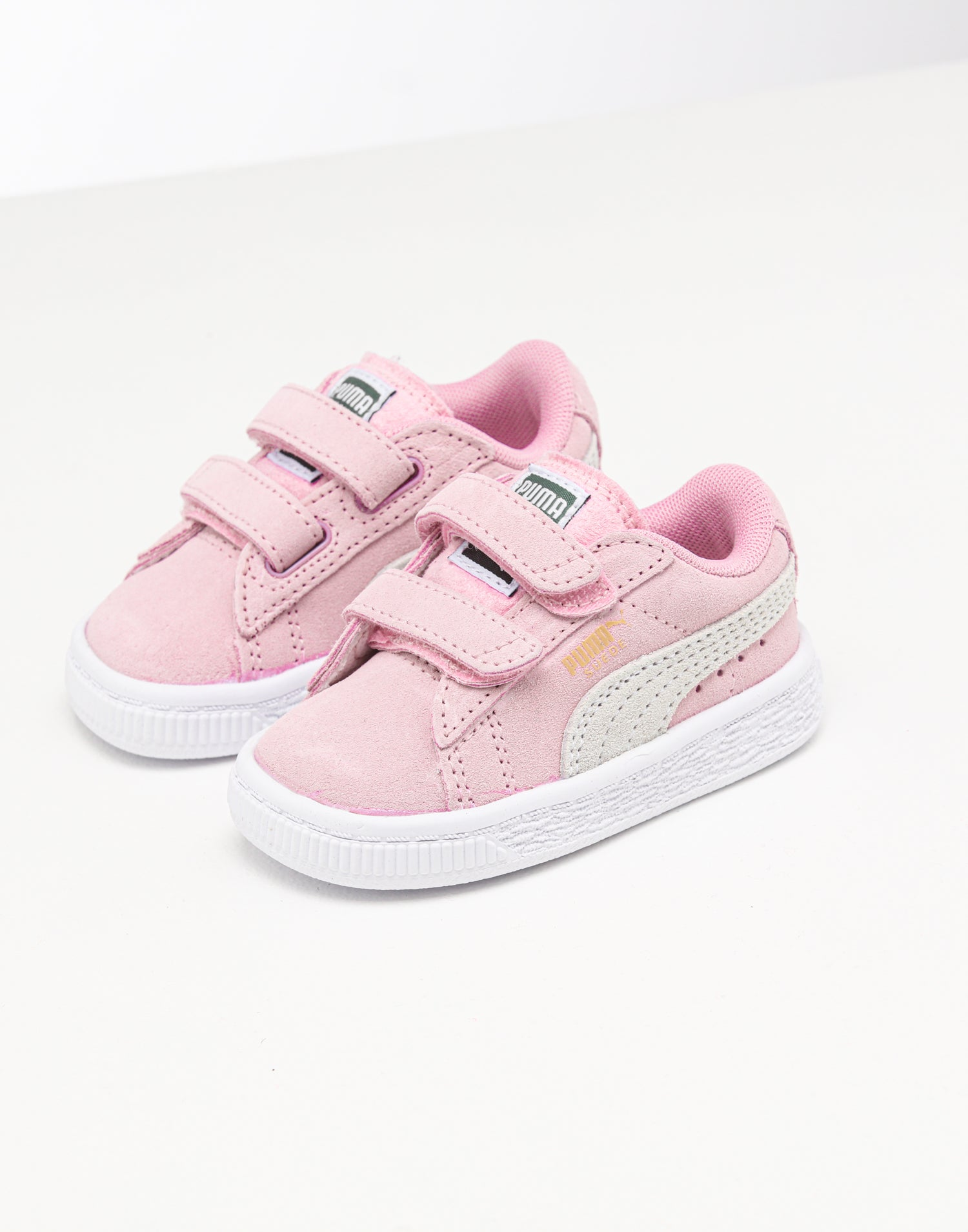 Infant Suede 2 Straps PinkGold