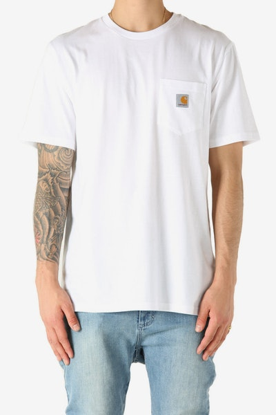 Carhartt Pocket S/S Tee White