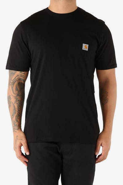 Carhartt Pocket S/S Tee Black