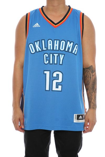 Adidas Performance OKC Thunder Steven Adams '12' Swingman Jersey Blue