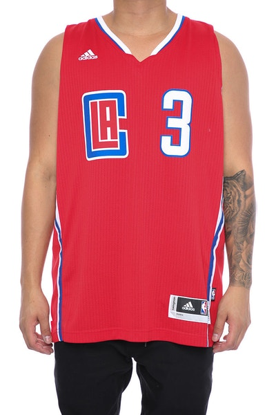 Adidas Perfomance Los Angeles Clippers Chris Paul '3' Swingman Jersey Red