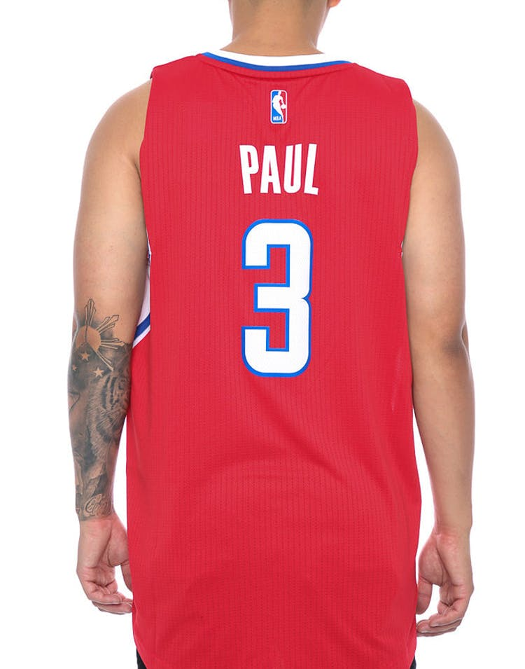 59d8df3a74c Adidas Perfomance Los Angeles Clippers Chris Paul '3' Swingman Jersey Red