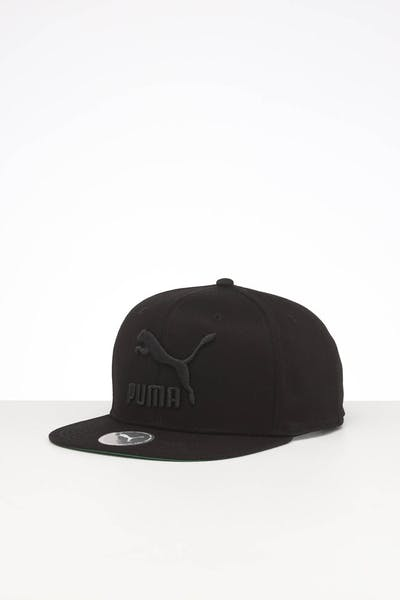 Puma LS ColourBlock Snapback Cap Black