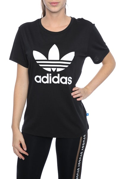 Adidas Originals BF Trefoil Tee Black