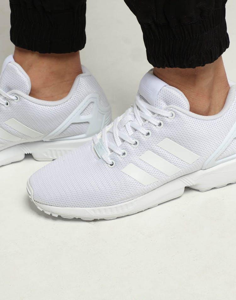 online store 1fbd3 8e7c3 Adidas ZX Flux White White White