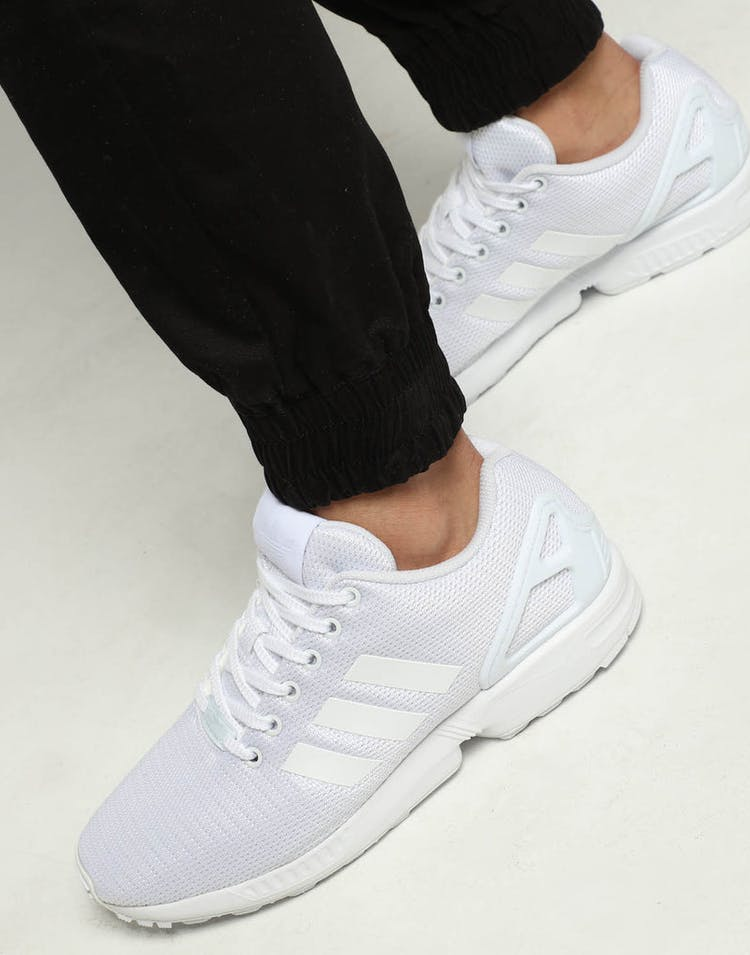 the best attitude b3412 f9d4a Adidas ZX Flux White/White/White