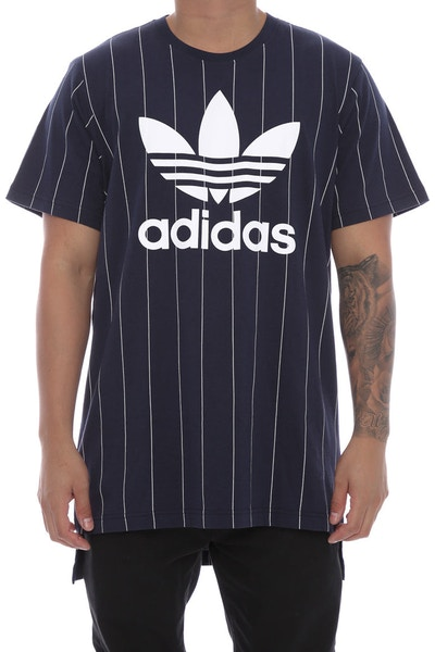 Adidas Originals Pinstripes Tee Navy