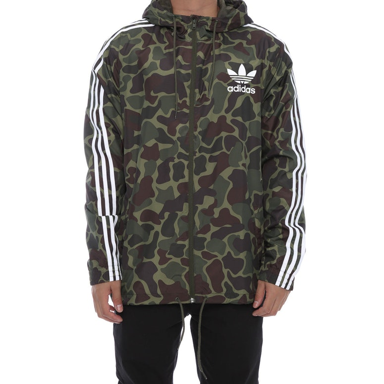 adidas originals camo windbreaker camo white culture kings. Black Bedroom Furniture Sets. Home Design Ideas