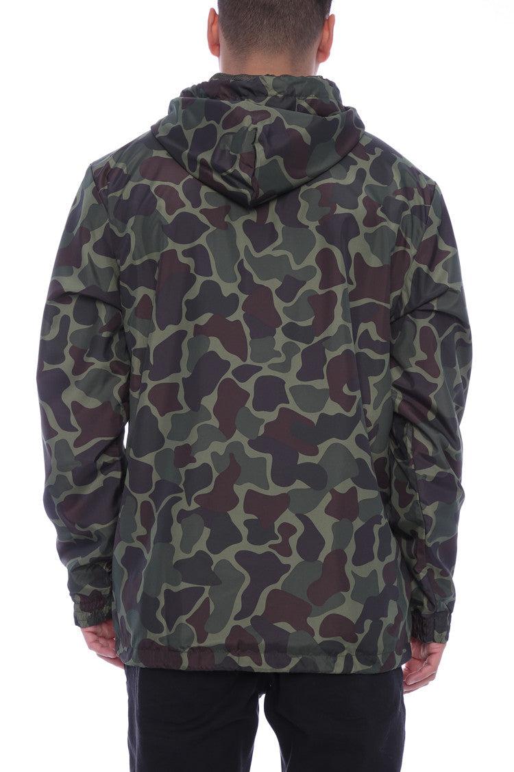 adidas Originals Full Zip Sweatshirt Track Jacket Mens Camo