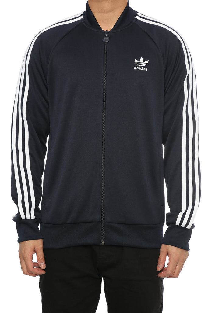 Adidas Originals SST Track Jacket Navy – Culture Kings