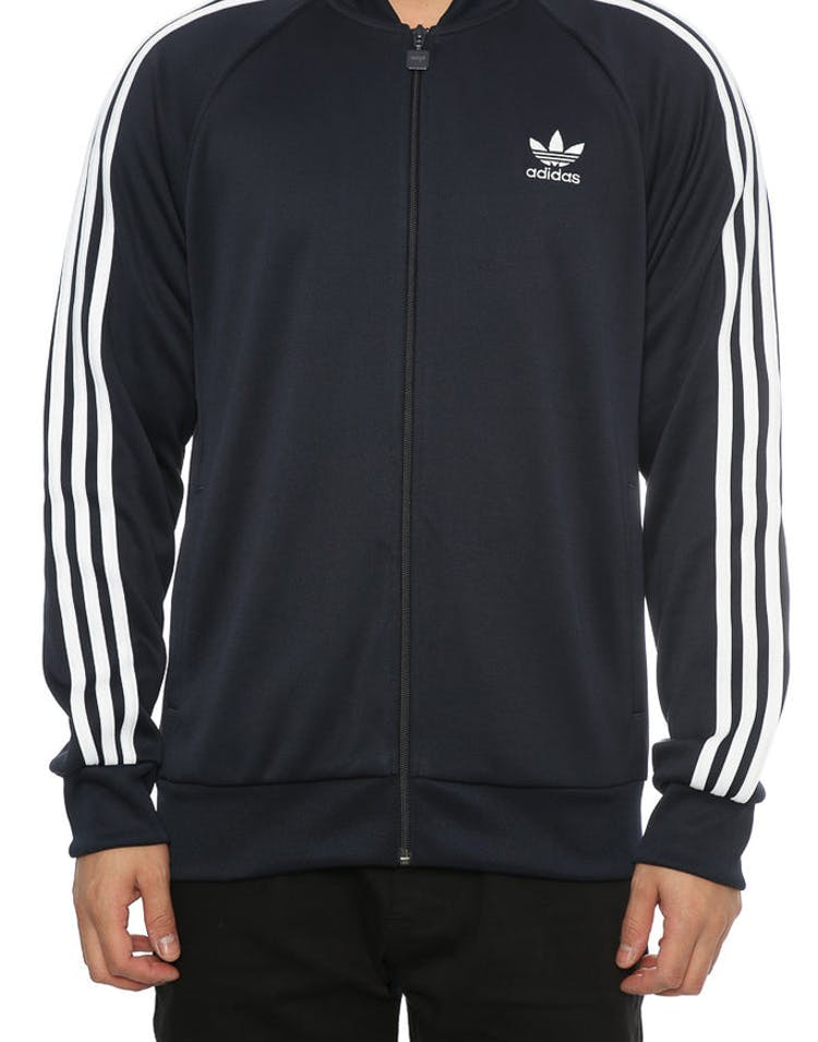 2aa9090c Adidas Originals SST Track Jacket Navy – Culture Kings