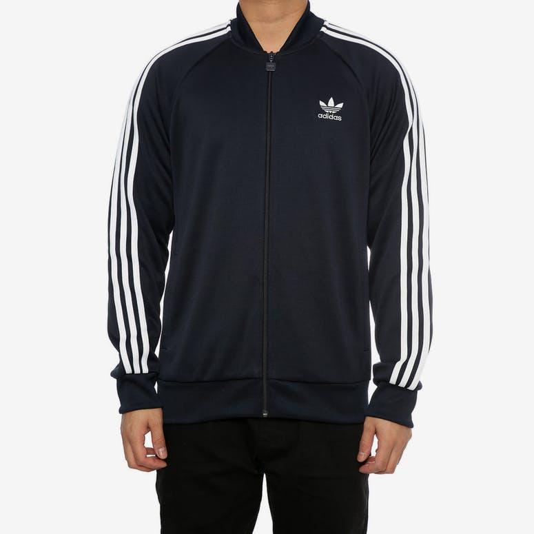 new product 3e3ca bd81e Adidas Originals SST Track Jacket Navy – Culture Kings