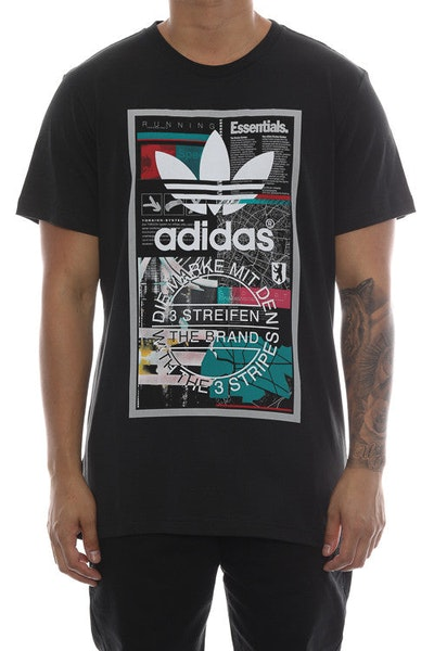 Adidas Originals Editorial Tee Black