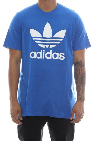 Adidas Originals Trefoil Tee Blue