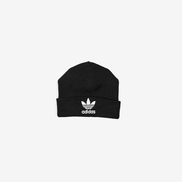 Adidas Trefoil Beanie Black – Culture Kings 69f83aa693f