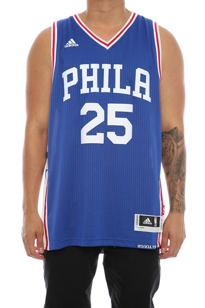 Adidas Performance Philadelphia 76ers Ben Simmons Swingman Jersey Royal