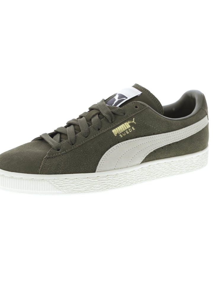 085a9d432c4 Puma Suede Classic + Olive Off White