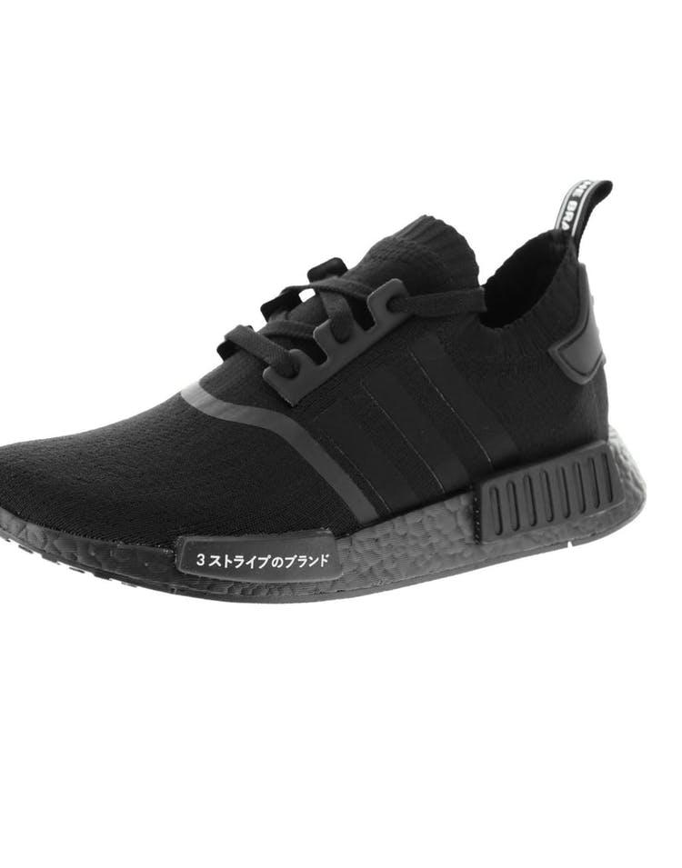 promo code a553a a20bb Adidas Originals NMD R1 Primeknit Black/Black