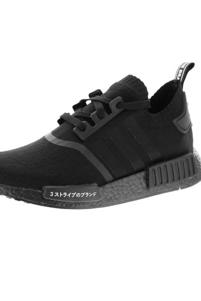 dc4756f59 Adidas Originals NMD R1 Primeknit Black Black