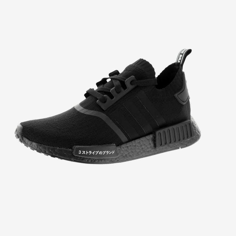 960b0eb47a7 Adidas Originals NMD R1 Primeknit Black Black