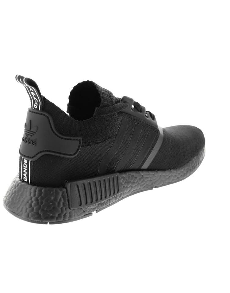 promo code b302e d5c84 Adidas Originals NMD R1 Primeknit Black/Black