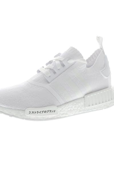 c2e8f304d Adidas Originals NMD R1 Primeknit White White