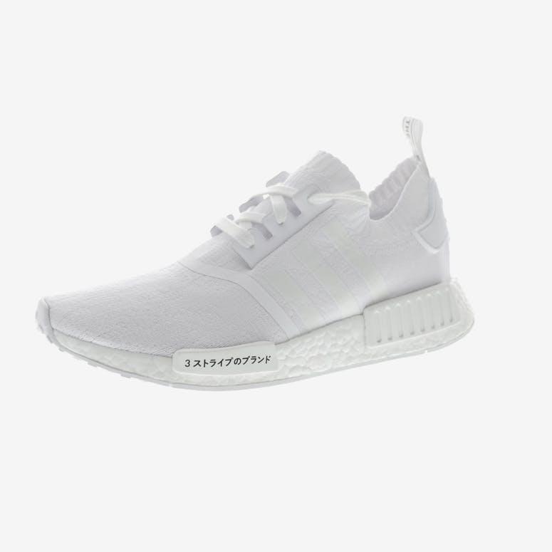 Adidas Originals NMD R1 Primeknit White White  f023f4f53