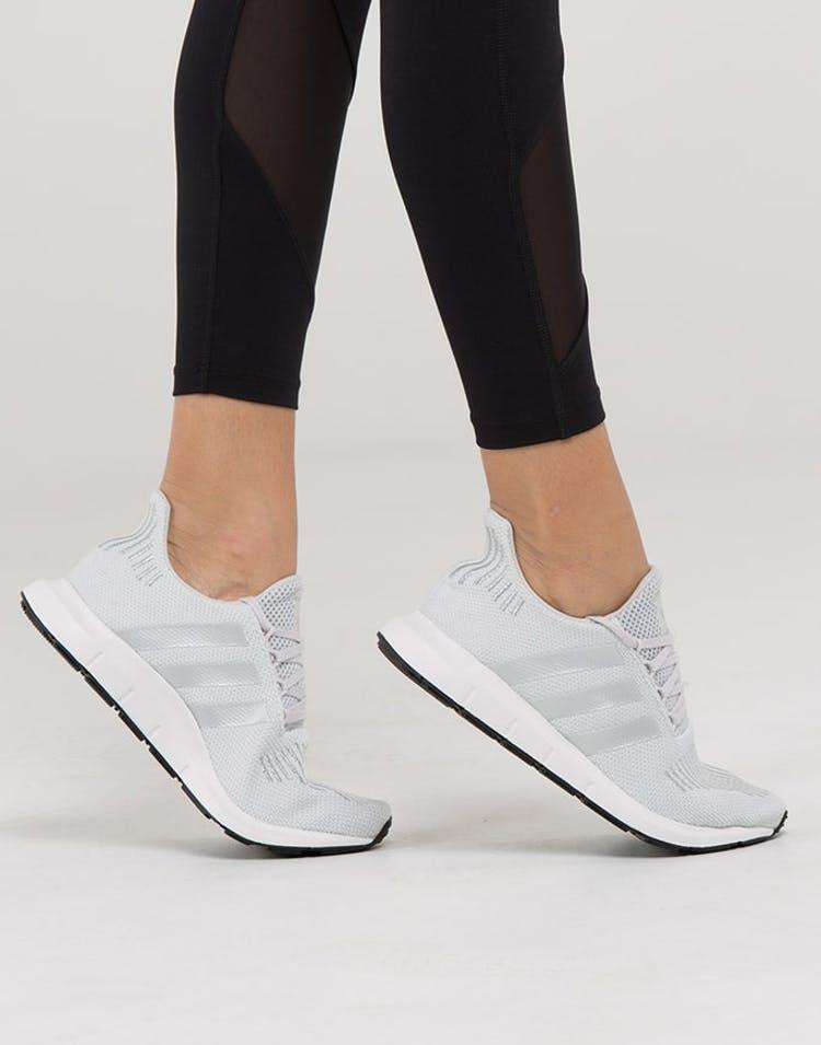 82628b487 Adidas Originals Women s Swift Run Grey Silver White
