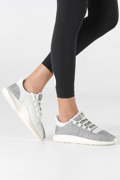 Adidas Originals Women's Tubular Shadow White/White