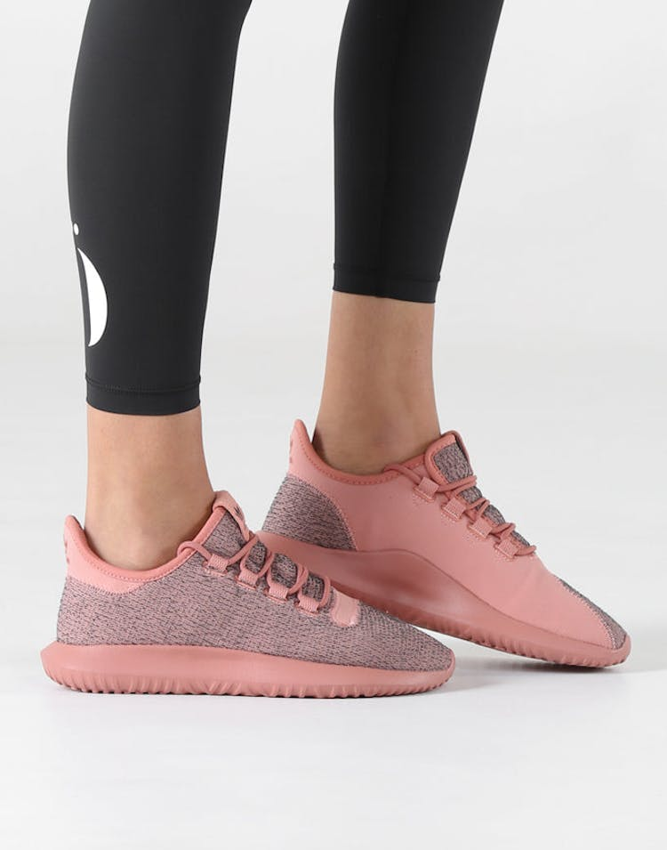 the latest 456f9 0a56a Adidas Originals Women's Tubular Shadow Pink/Pink
