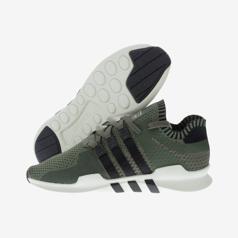 a56e69b25785 Adidas Originals EQT Support ADV Primeknit Green Black White ...