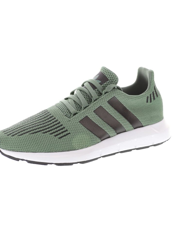 360c659173d14 Adidas Originals Swift Run Green Black White