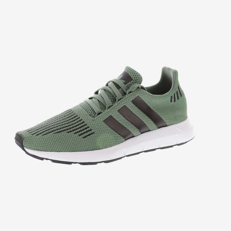 cf837fcc15c Adidas Originals Swift Run Green Black White