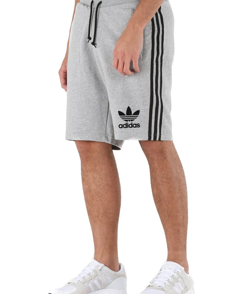competitive price f3889 dc3e3 Adidas Originals 3-Stripes French Terry Shorts Grey Heather – Culture Kings