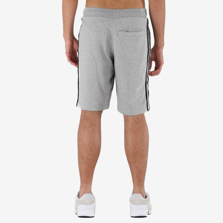 Adidas Originals 3-Stripes French Terry Shorts Grey Heather
