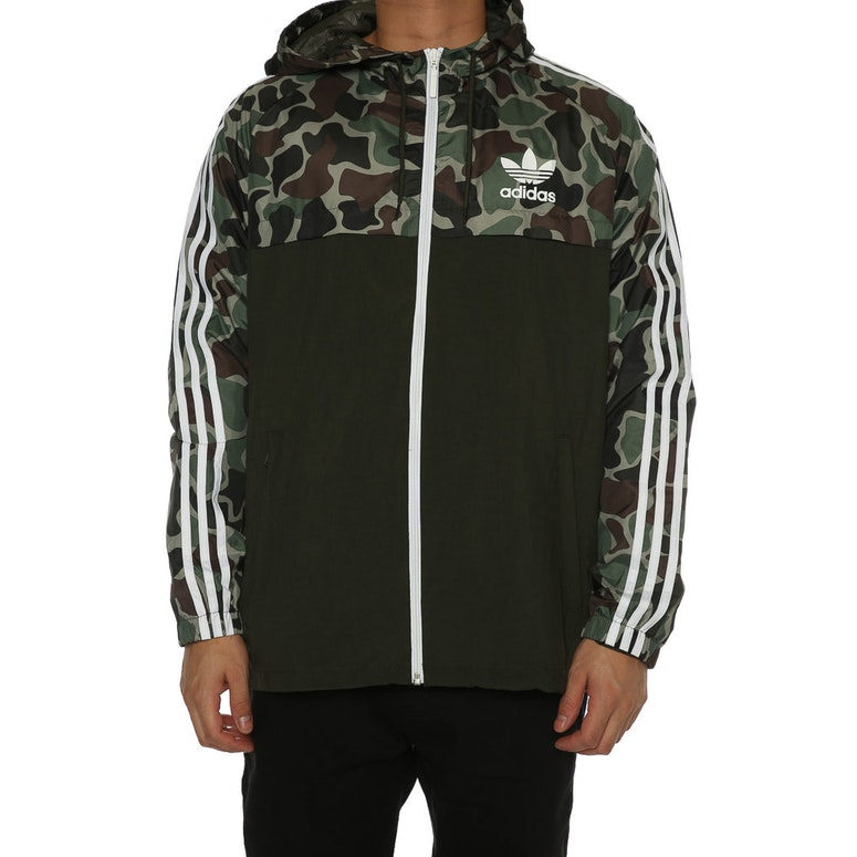 adidas originals camo rev windbreaker multi coloured. Black Bedroom Furniture Sets. Home Design Ideas
