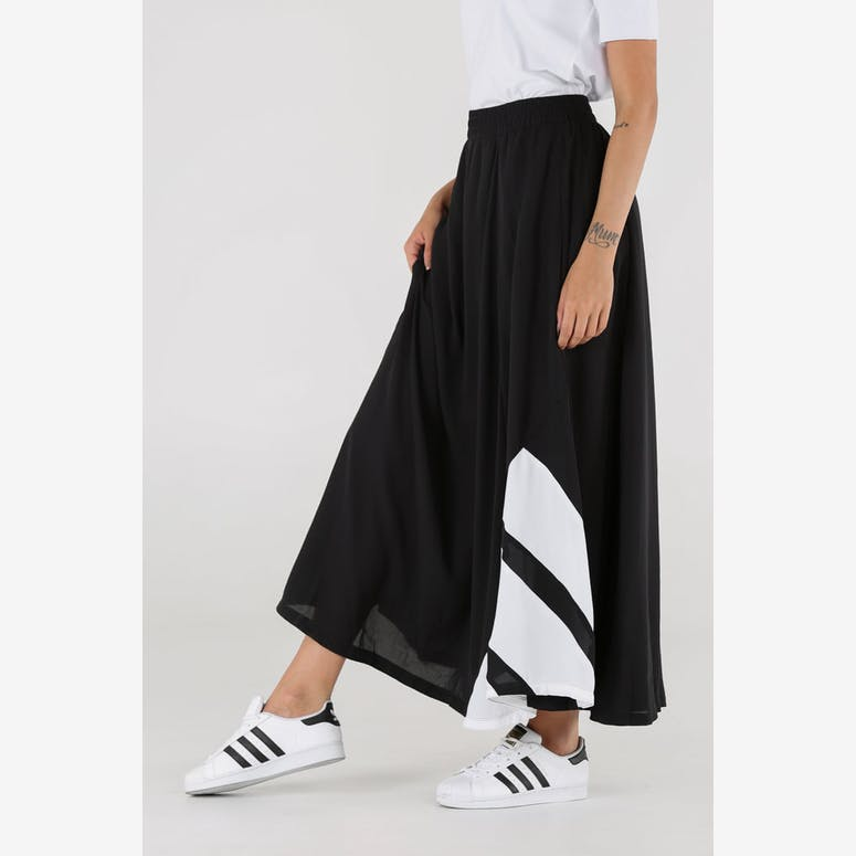new style d5930 8b685 Adidas Originals Womens EQT Long Skirt BlackWhite – Culture