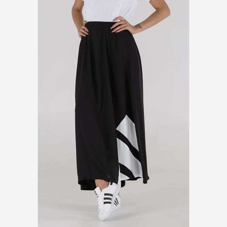 innovative design ef221 dfdd9 Adidas Originals Womens EQT Long Skirt BlackWhite