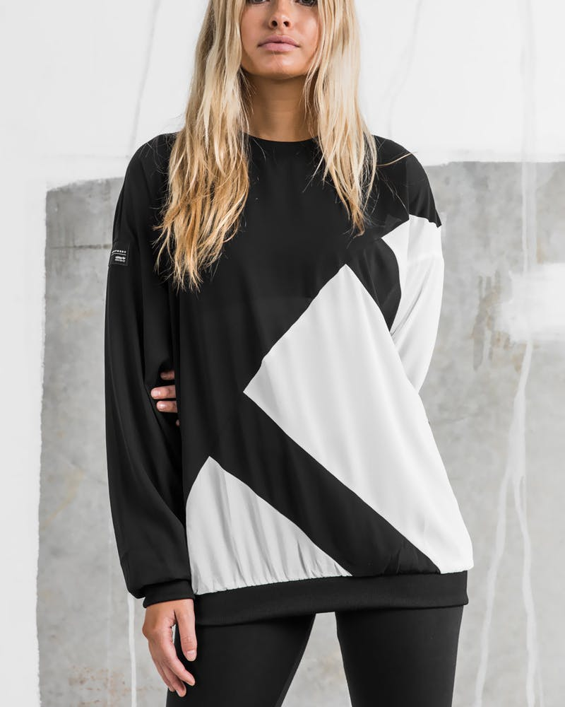 Adidas Originals EQT Blocked Sweatshirt Black/White