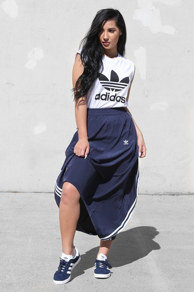 Adidas Originals Women's Skirt Dark Navy