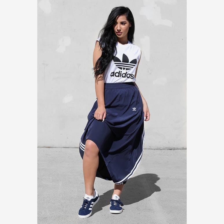 save off 4f3a7 b9816 Adidas Originals Womens Skirt Dark Navy – Culture Kings