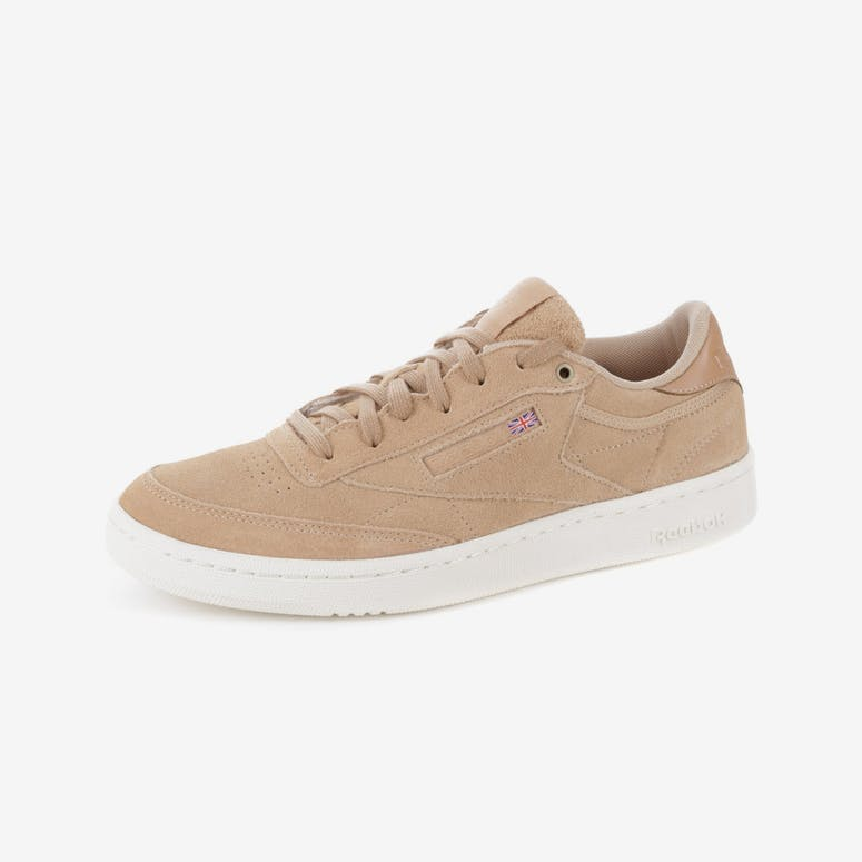 db7466cf5f8 Reebok Club C 85 MCC (Montana Cans) Tan White
