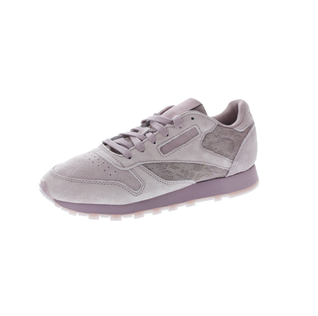 huge selection of 4ec44 3ecd8 ... discount code for rose cloud white reebok womens cl leather lace purple  purple 418b7 e7584